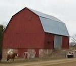 clear lake red barn