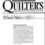 quiltersnewslettermagazine