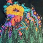 art quilt by Sharon Barnes