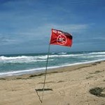 red-flag-on-beach
