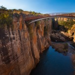 Bourke's Luck Potholes bridge