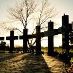 columbine memorial crosses